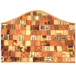 Queen/Full Headboard cover Boho Style patchwork